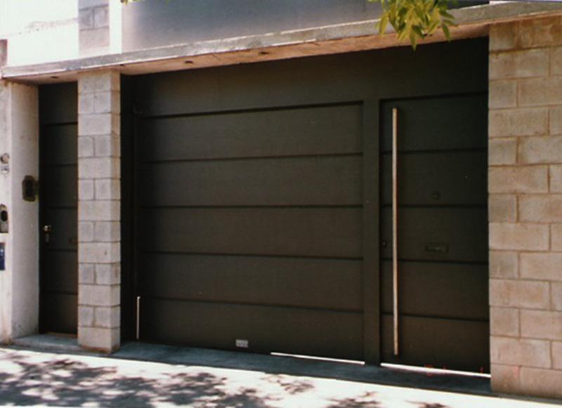Portones seguport dise o fabricaci n y automatizaci n for Puertas de metal con diseno